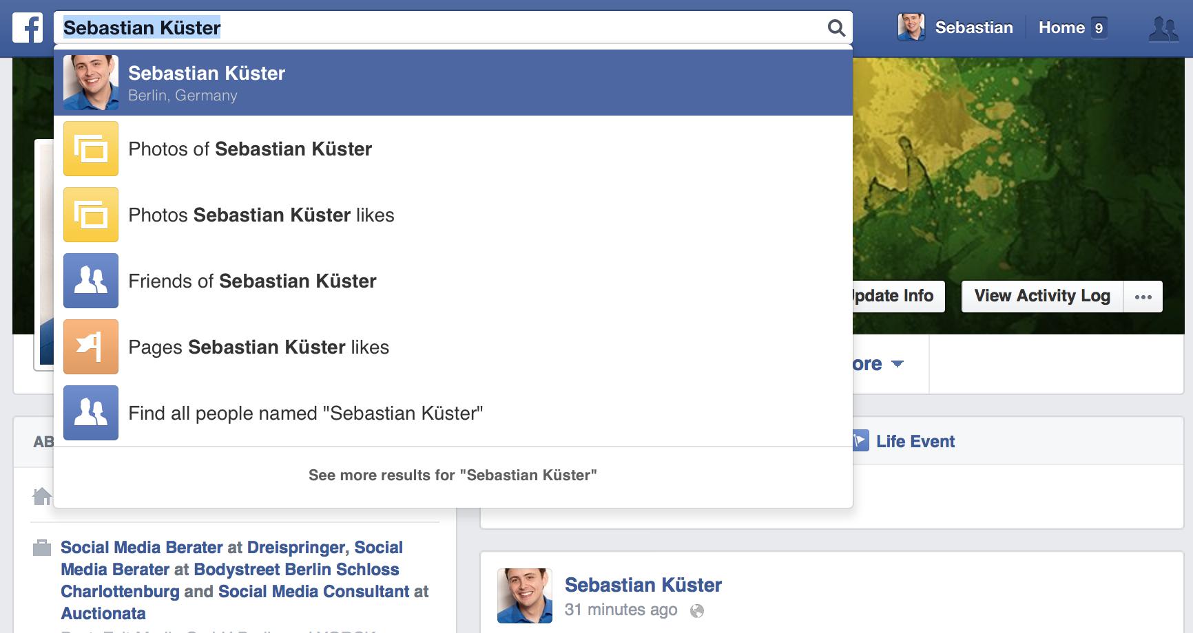 facebook-graph-suche