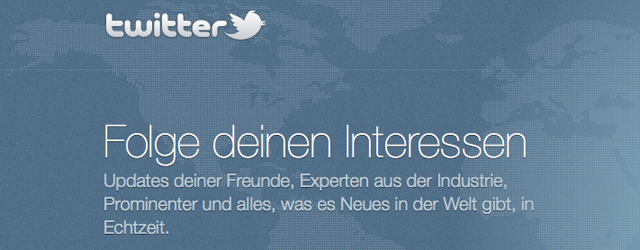 Neues Twitter-Design